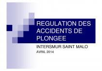 Regulation plonge e