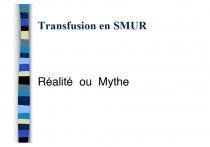 Transfusion smur